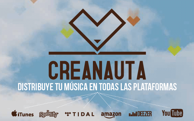 distribucion digital de musica, creanauta
