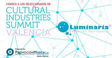 luminaria, seleccionado cultural industries summit 2016