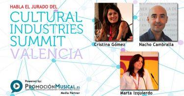 cultural industries summit, conoce al jurado