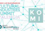 cultural industries summit 2016, seleccionado, komilibro