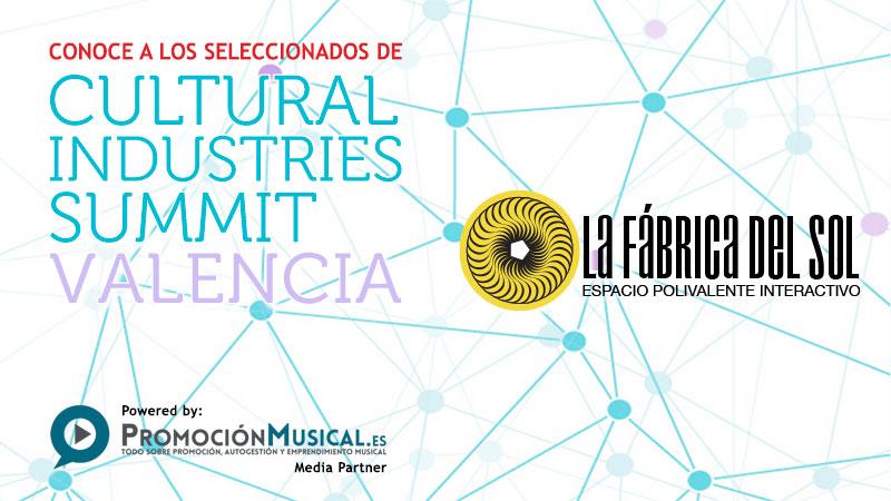 cultural industries summit, proyectos seleccionados, la fabrica del sol