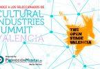cultural industries summit, seleccionados, open stage valencia