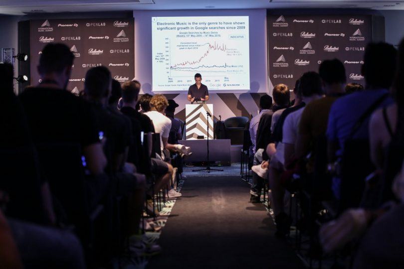 informe industria musical edm, ims, international music summit