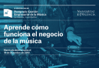 Abierta la preinscripción de la 6ª edición del Postgrado en Gestión Empresarial de la Música, Universitat de València.
