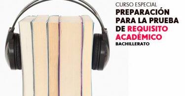 Curso de preparación para la prueba del requisito académico (CePRA)