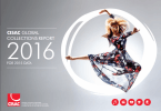 CISAC. Informe de Recaudaciones Mundiales 2016   Resumen y derechos reflejados