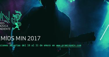 premios, musica independiente, industria musical, min 2017, premios min 2017
