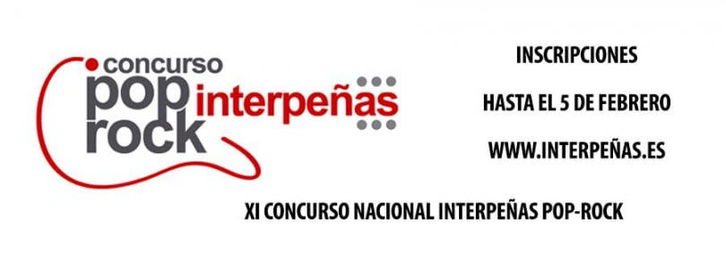XI Concurso Nacional Interpeñas Pop Rock