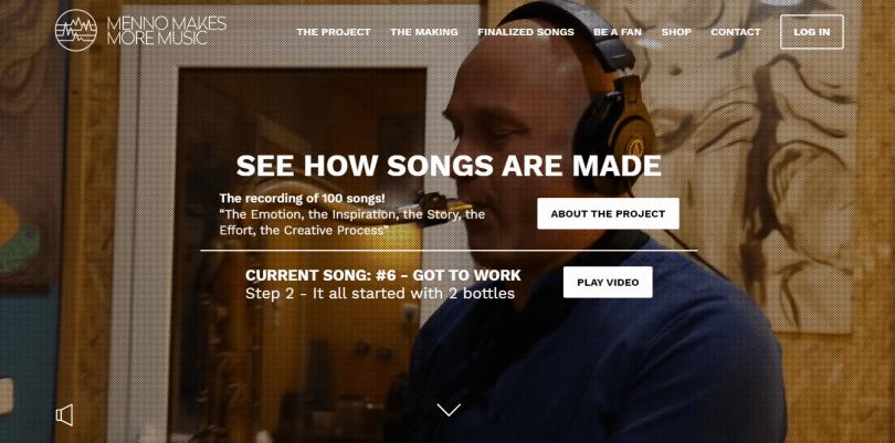 menno makes more music