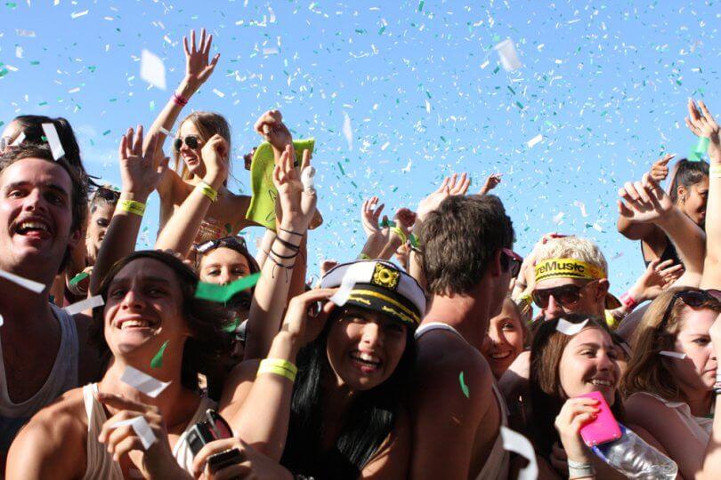 Los festivales de música como experiencias de ocio
