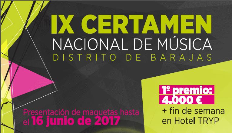 IX Certamen Internacional de Música del Distrito de Barajas
