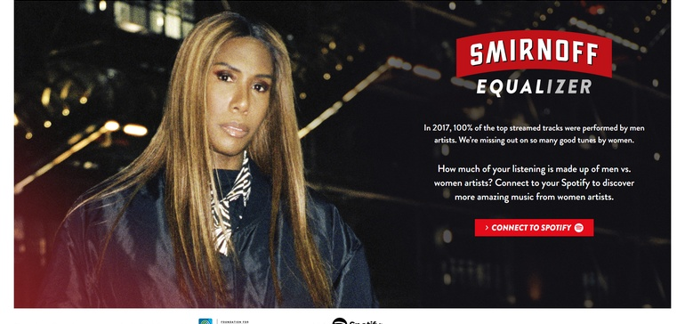 Equalizing Music | Alianza Smirnoff y Spotify para la Igualdad de las Mujeres en Playlists