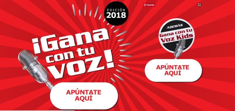 """""""Gana con tu Voz"""" Busca los mejores Cantantes de España"""