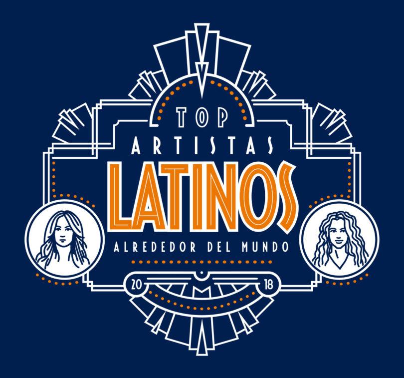 Top Artistas Latinos en el Mundo 2018