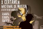 X Certamen Nacional de Música 2018 | Bases