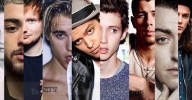 top artistas 2017