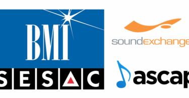 Diferencias entre BMI, ASCAP, SESAC y SoundExchange