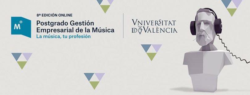 postgrado gestion empresarial de la musica uv 8 edicion