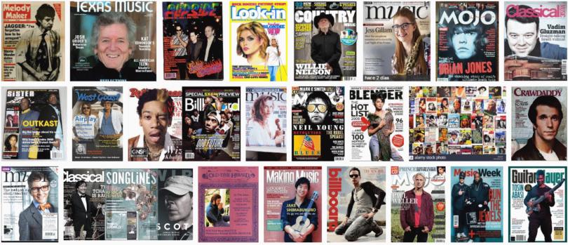 Revistas de Música de la A la Z | Revistas de Música Electrónica, Rock, Clásica y Más