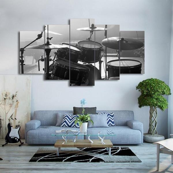 Ideas para decorar la casa con música