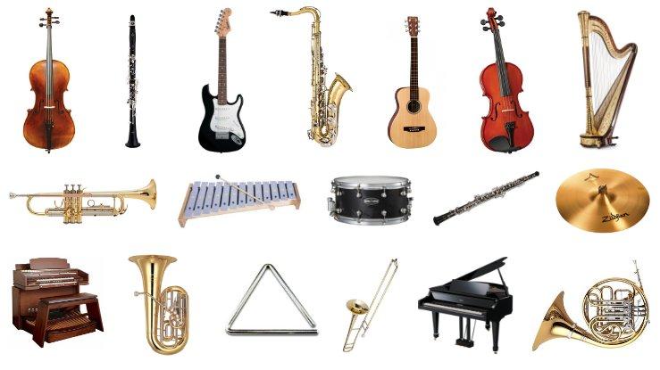 Nombres De Instrumentos Musicales De La A A La Z Lista