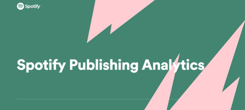 spotify plataforma datos editoriales