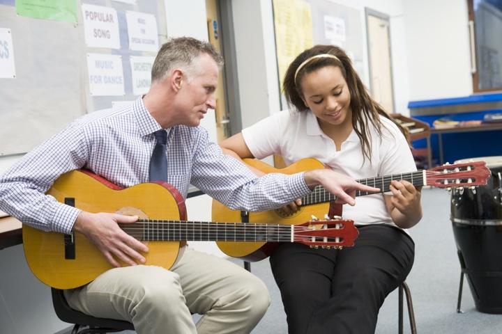 tipos de trabajos profesores de musica