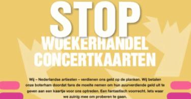 manifiesto artistas holandeses contra reventa