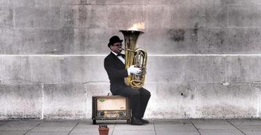 artistas callejeros - musicos callejeros
