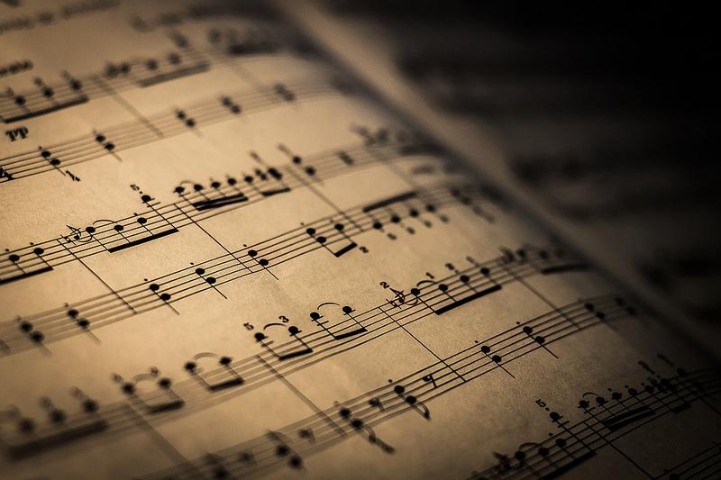 tipos de partituras