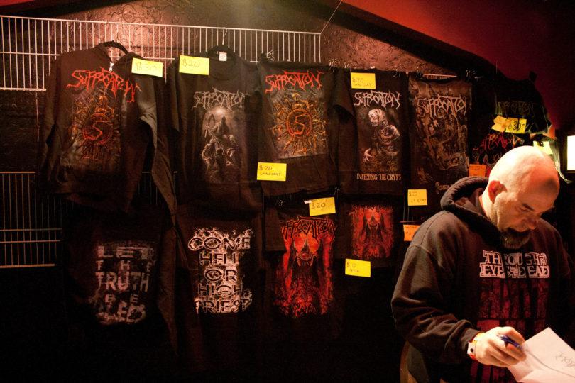 vender merchandising musical