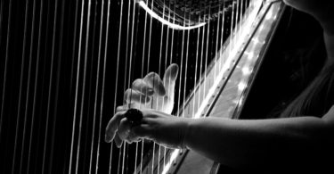 cuantas cuerdas tiene un arpa