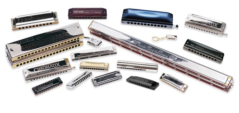 tipos de armonica
