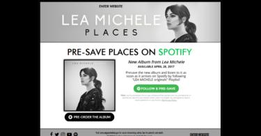 pre-save spotify