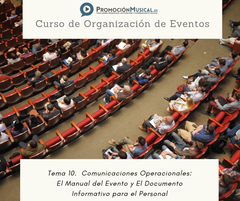 tema 10 curso organizacion de eventos