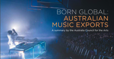 born global australia music export