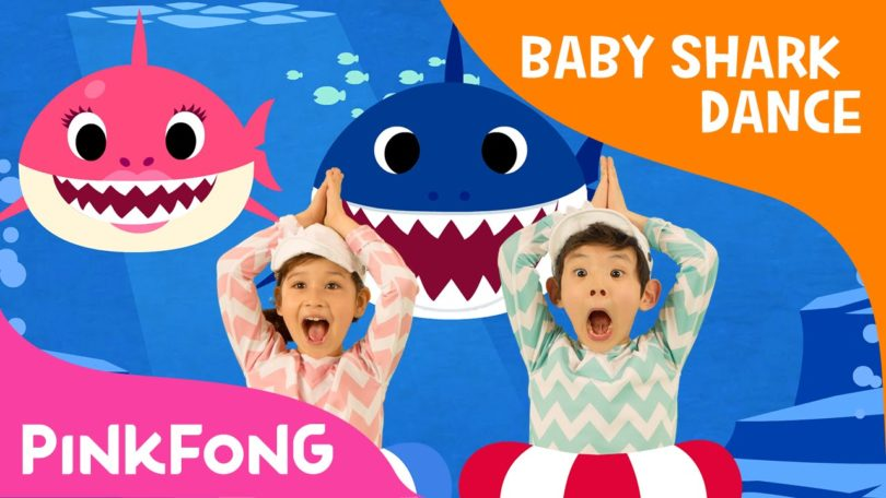 baby shark infraccion de copyright