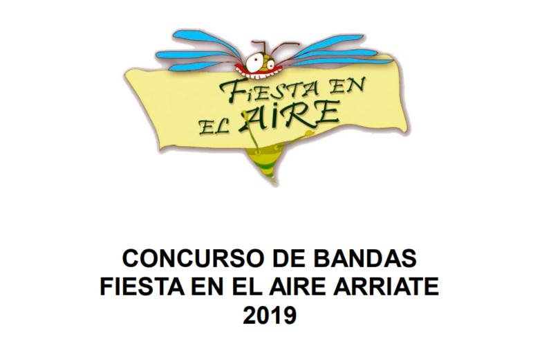 concurso bandas fiesta en el aire arriate 2019
