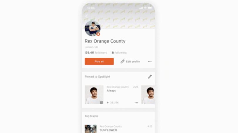 soundcloud editar canciones app ios