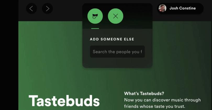 tastebuds spotify