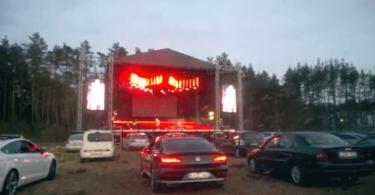 conciertos en coche