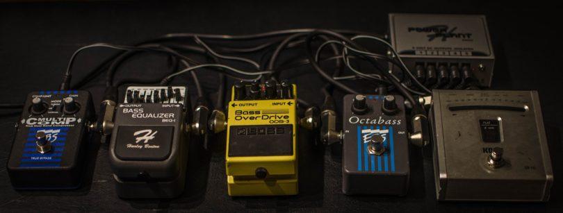 pedales de distorsion para heavy metal y rock