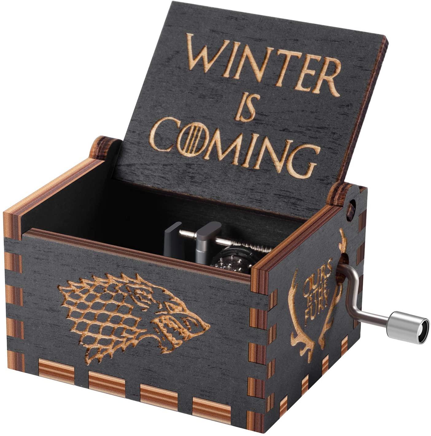 cajas de musica de juego de tronos