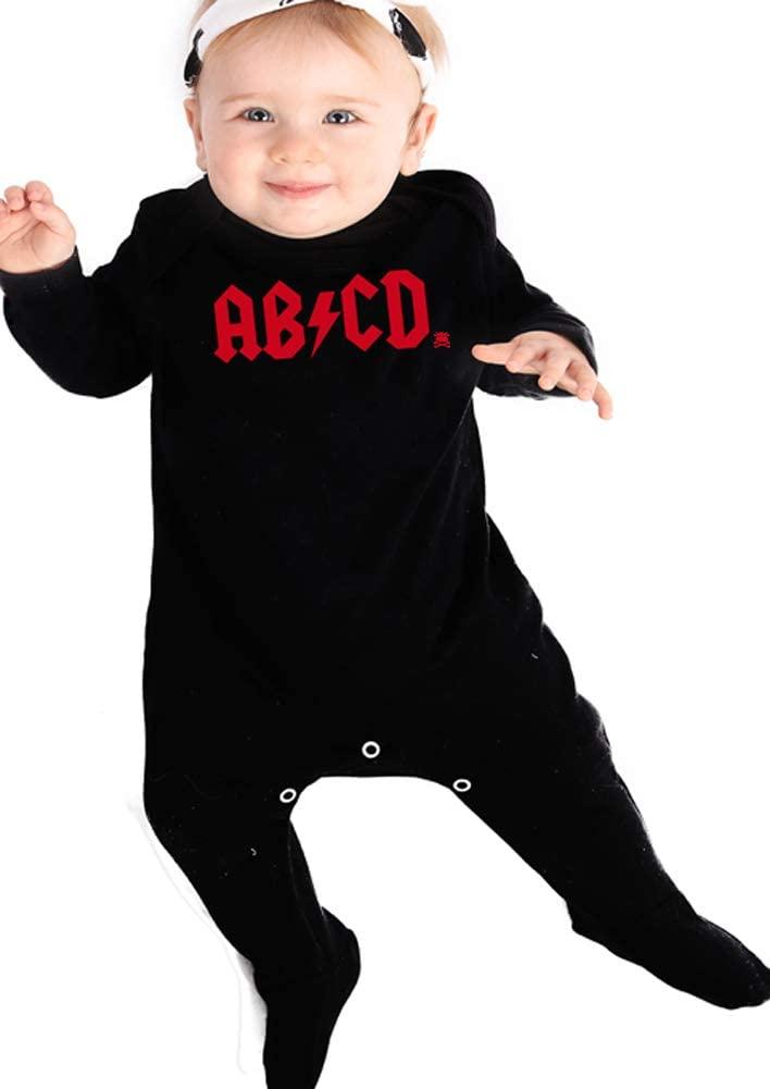 disfraz ACDC bebe