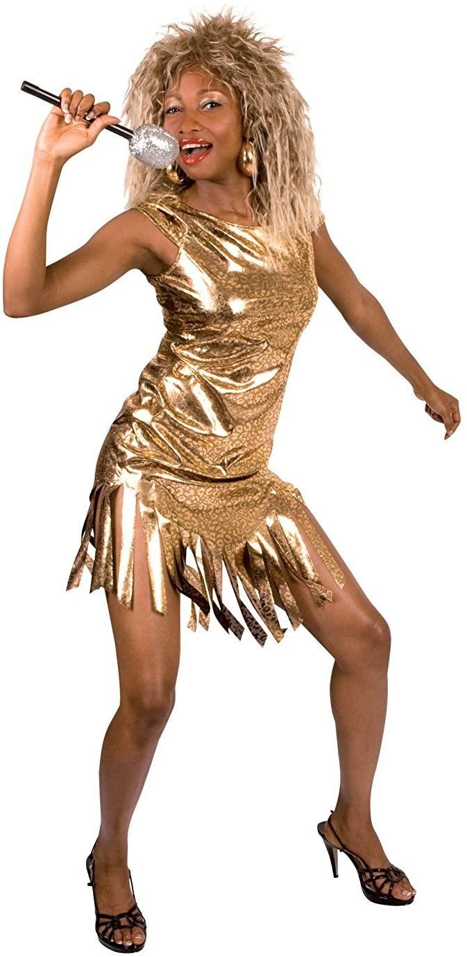 disfraz rock star mujer