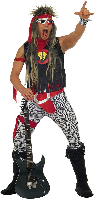 disfraz de estrella de rock