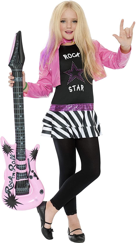 disfraz rockera niña