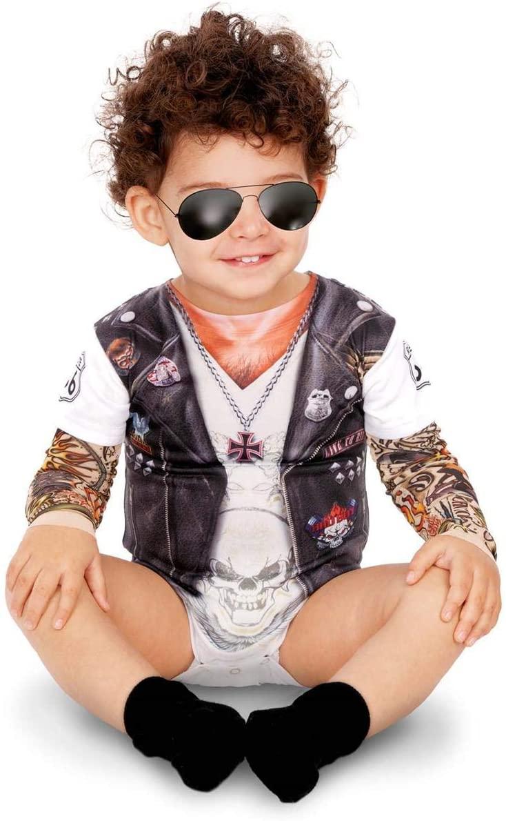 disfraz rockero bebe
